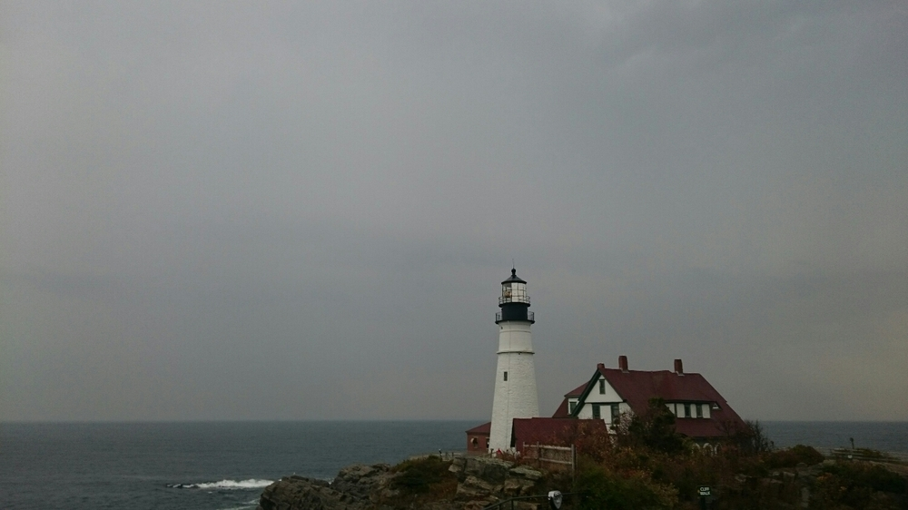 first light house in Maine