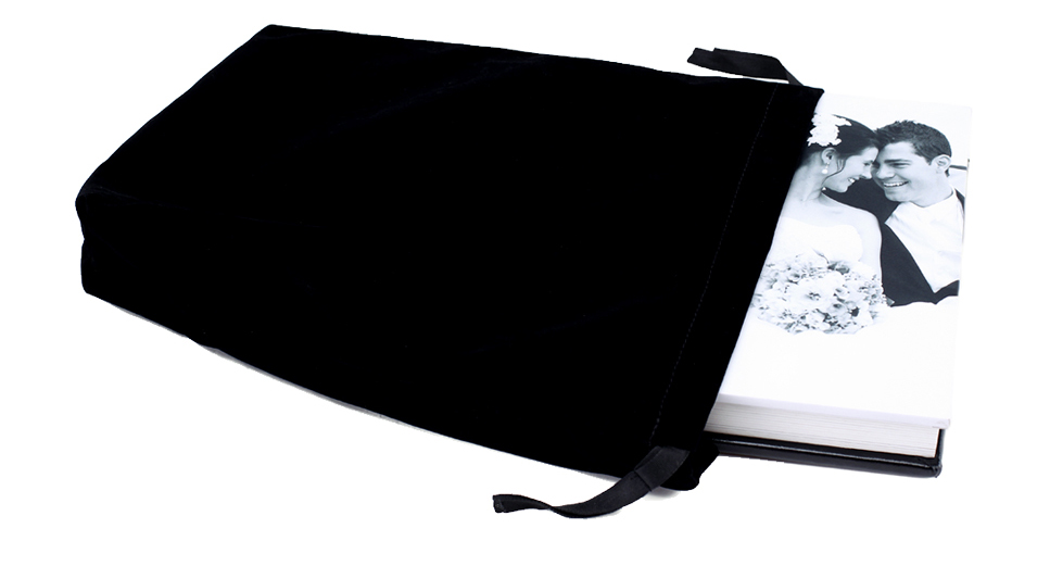 Velvet Black Bag