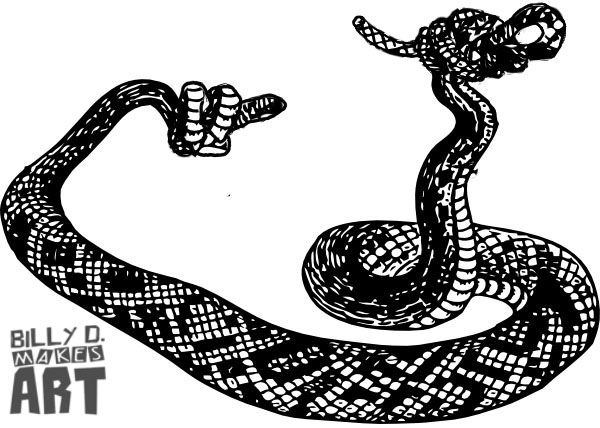 Snake Logo For NJ SAR Group