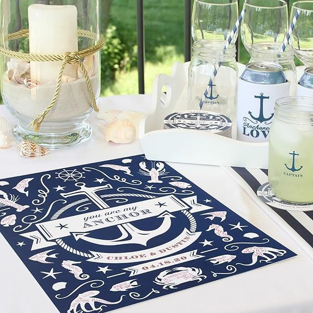 Have your last #sail before the veil! Add this #nautical art print to your table #decor for a #sea themed #adventure. http://empresspapercrafts.carlsoncraft.com/Wedding/Guest-Books--Pens/ZB-ZBK41037-Nautical--Art-Print.pro#imageSelect=164094