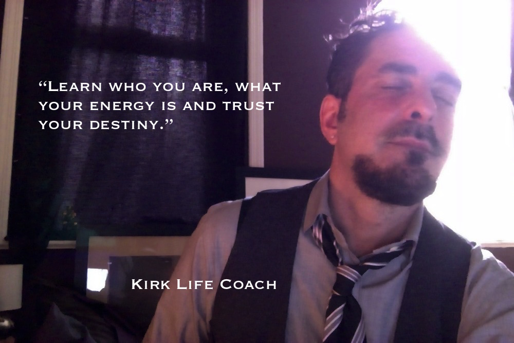 KLC quotepic :Trust your destiny : kirk shaman life coach grey shirt and tie  copy.jpg