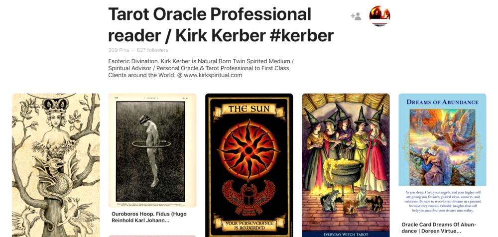 Kirk Kerber @ Pinterest
