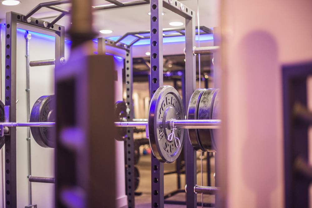 Fitness Equipment at Blueprint Fitness