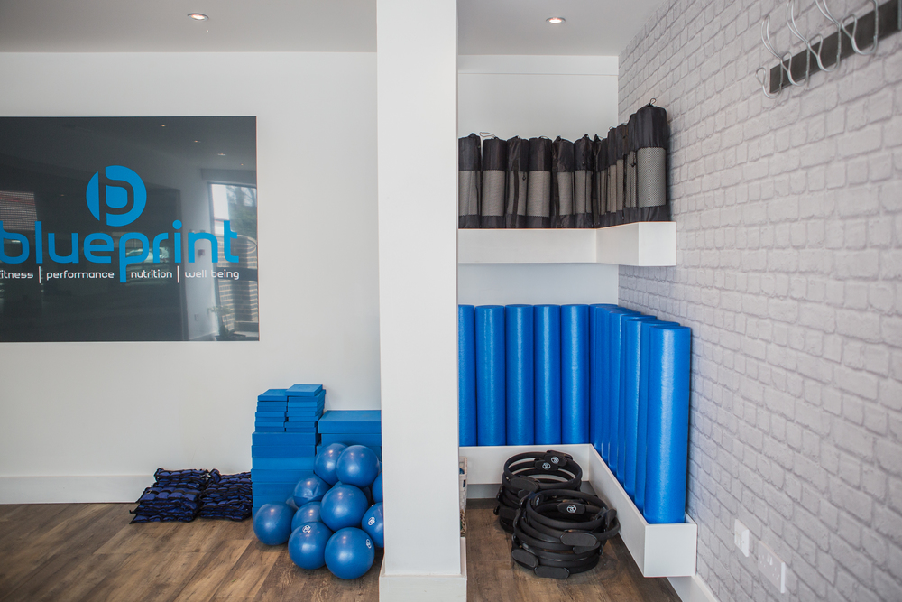 Pilates Props at Blueprint Fitness