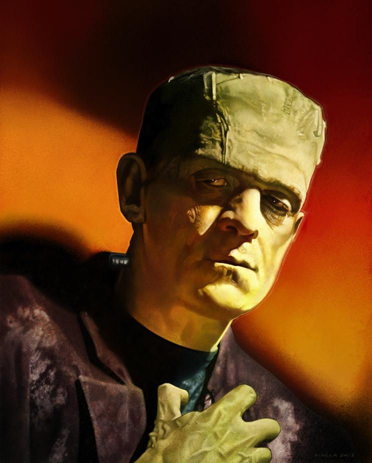 Boris Karloff-Frankenstein's Bride