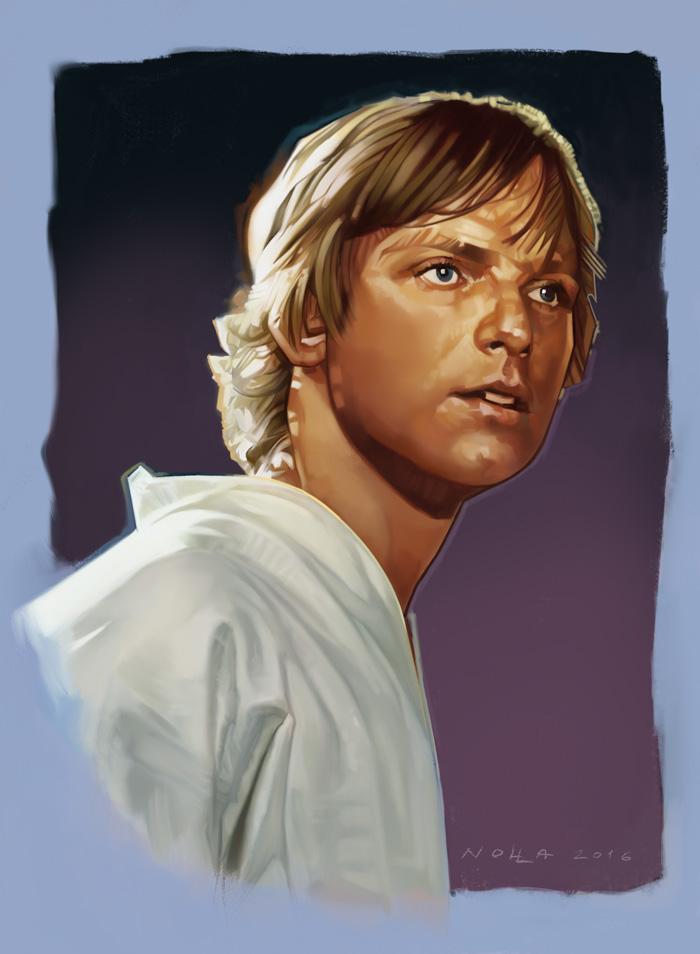 Luke Skywalker Study
