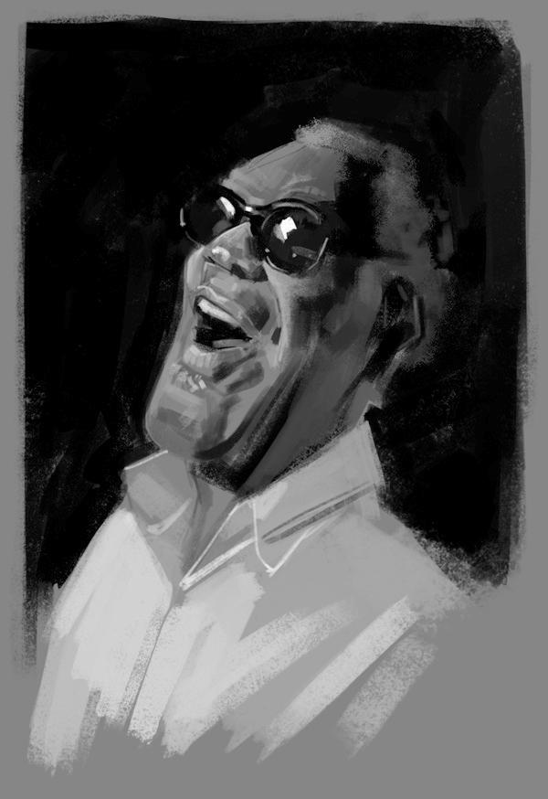 Ray Charles Sketch - Vamo a vé que sale de eto