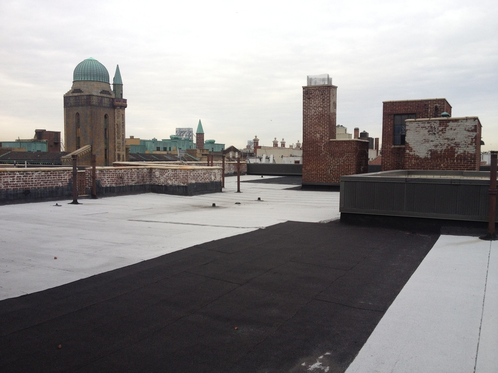Roofing services completed by Bulado General Contractors of New York.