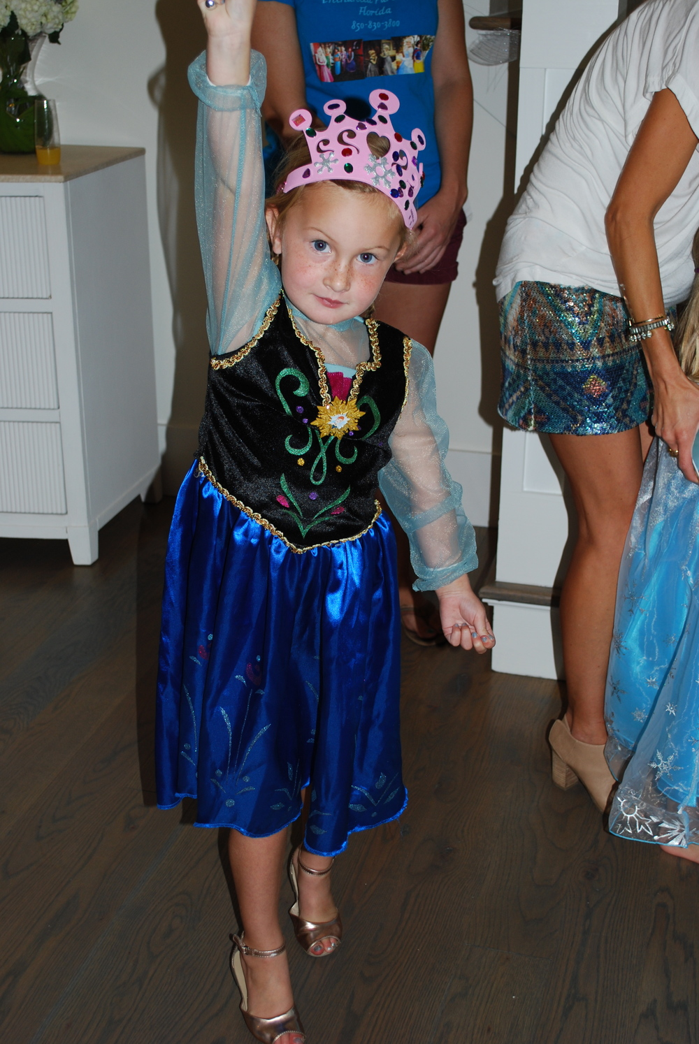 Emery had some serious magic powers :)  I want her shoes!!!