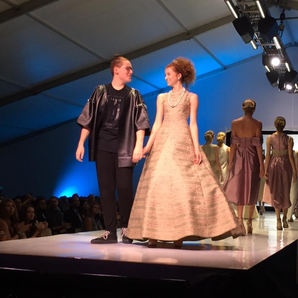 Emerging Designer Winner - Tieler Garsaud of Tieler James Brand