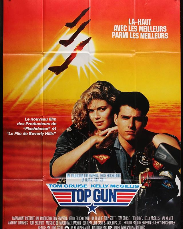 "Top Gun French ""Grande"" .... Think I'm going to do #Archer on this one after it gets linen backed! . . #snipeart #tomcruise #topgun #maverick"