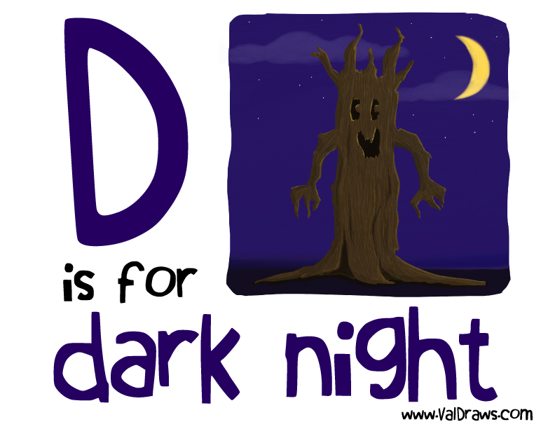 D-is-for-dark-night-valerie-bean-illustration