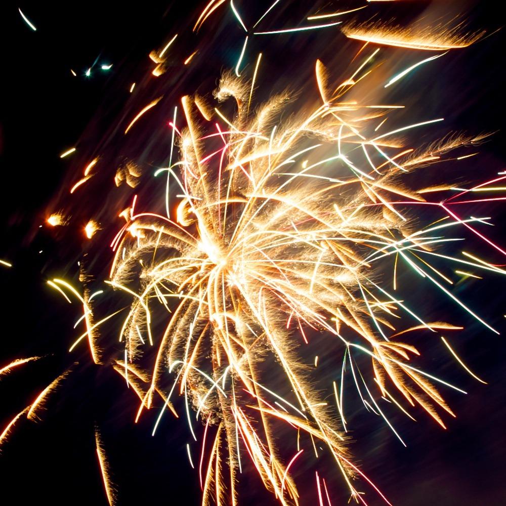 First attempt to photograph a firework