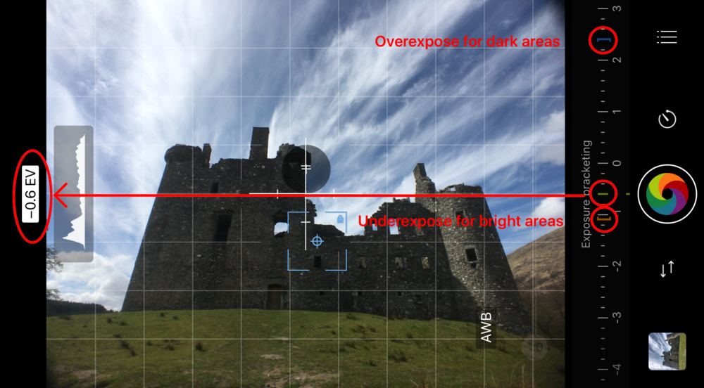 AMEB Mode in ProCamera