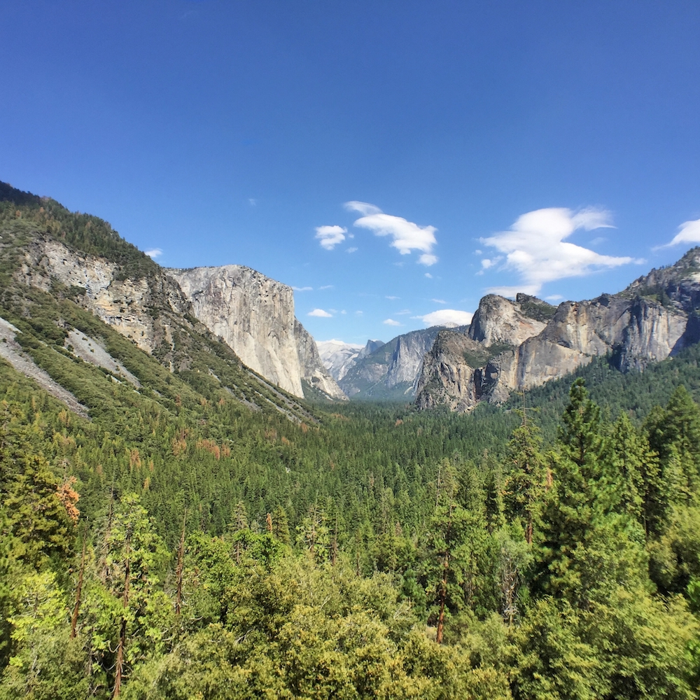 Tunnel View Yosemite with Moment Wide Lens
