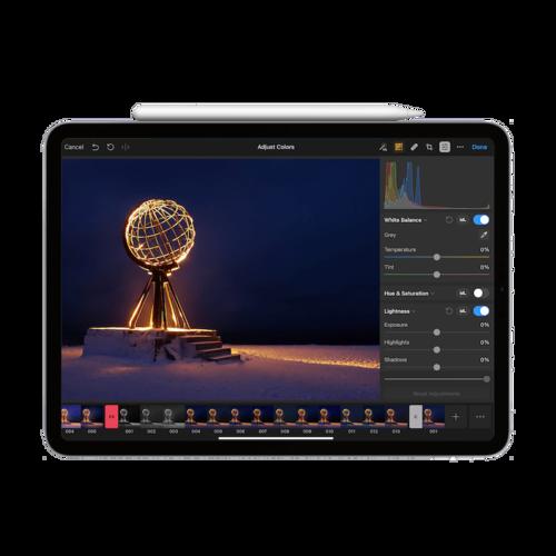 Review: Pixelmator Photo for iPad  A Lightroom alternative