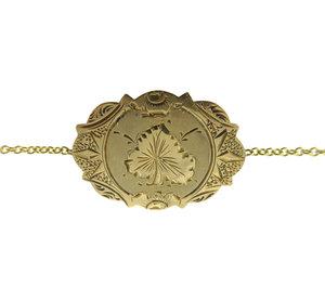 Shop susan siegel bracelet medallion 2g aloadofball Gallery