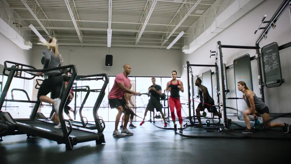This class improves cardiovascular endurance while reducing body fat and building muscle. Become more powerful, increase your strength, improve cardio and develop muscle endurance.