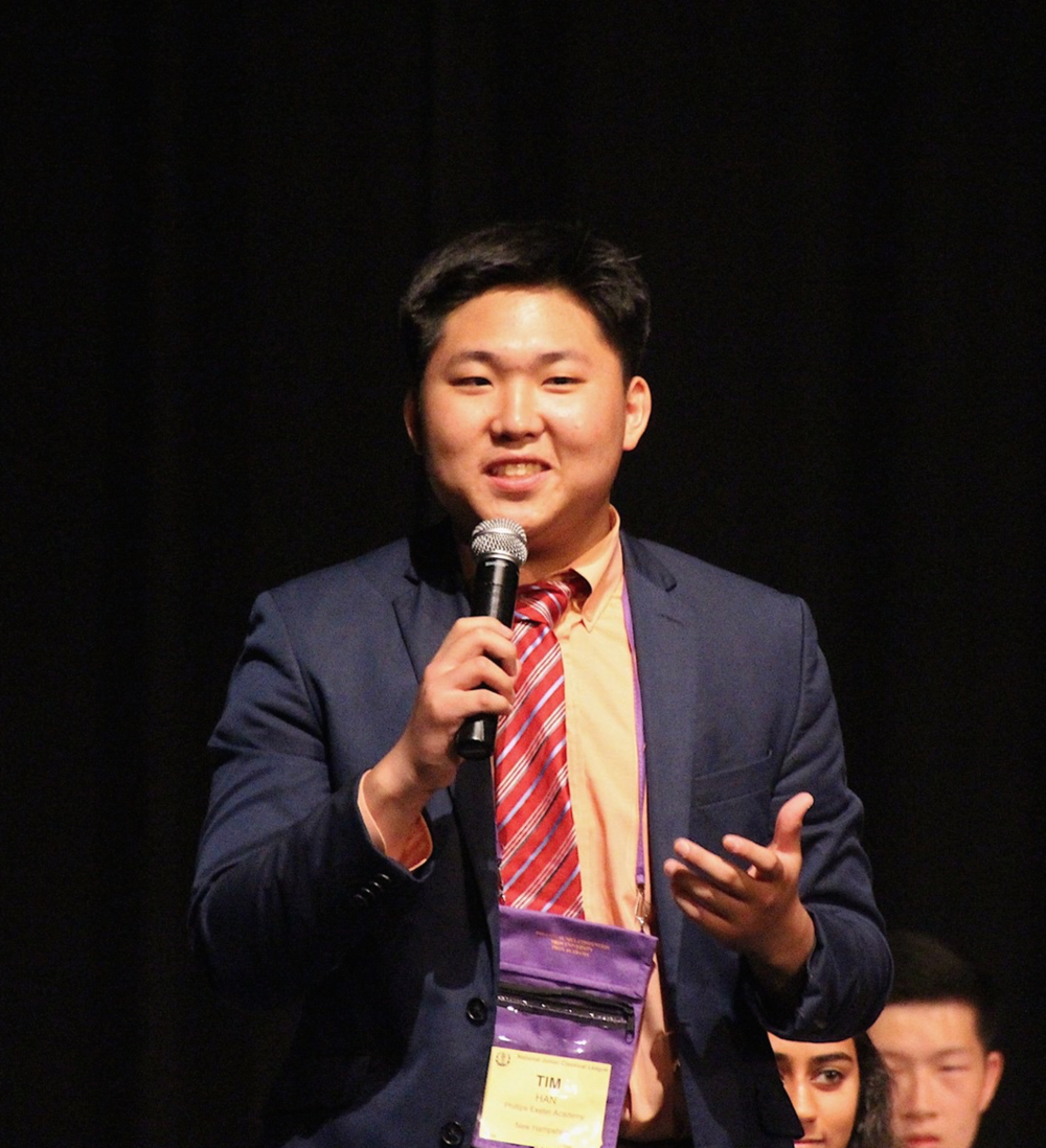 Timothy Han, Communications Director - Timothy Han is the Director of Communications for YMUNI 2019. He is a first-year in Silliman College and is extremely excited to meet all of you. On campus, he is a member or on the secretariat of the Yale Model United Nations conference, the Model United Nations Team at Yale, the Security Council Simulation at Yale, the International Relations Symposium at Yale, the Yale Undergraduate Consulting Group, and Christian Union at Yale. Please feel free to reach out to ymuni.communications@yira.org if you have any questions about the YMUNI program!