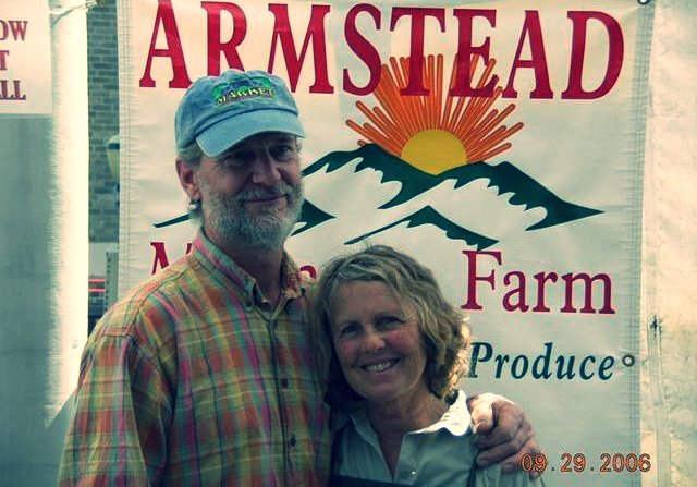 We regularly source  beautiful veggies from Armstead Mountain Farm, a diversified vegetable and USDA certified organic farm.