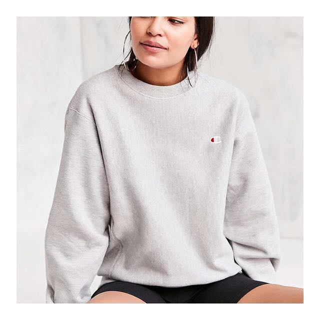 Champion @ Urban Outfitters  Reverse Weave Pullover Sweatshirt $54