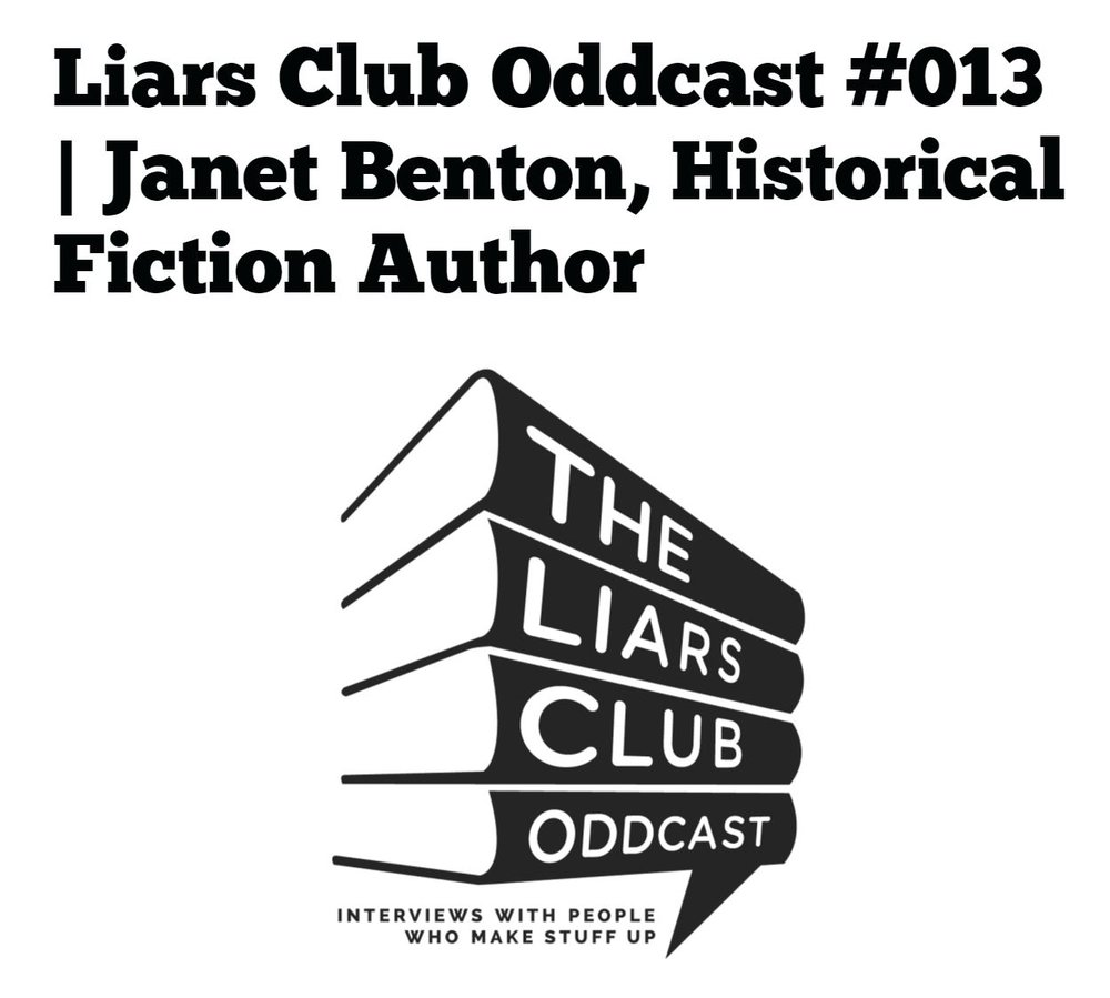 Liars Club Oddcast interview by Gregory Frost, Merry Jones, Jon McGoran, and Keith Strunk -