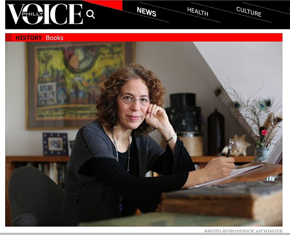 PhillyVoice interview  by Elizabeth Licorish -