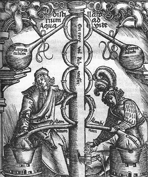 Distillation , The Destillirbücher , Hieronymus Brunschwig