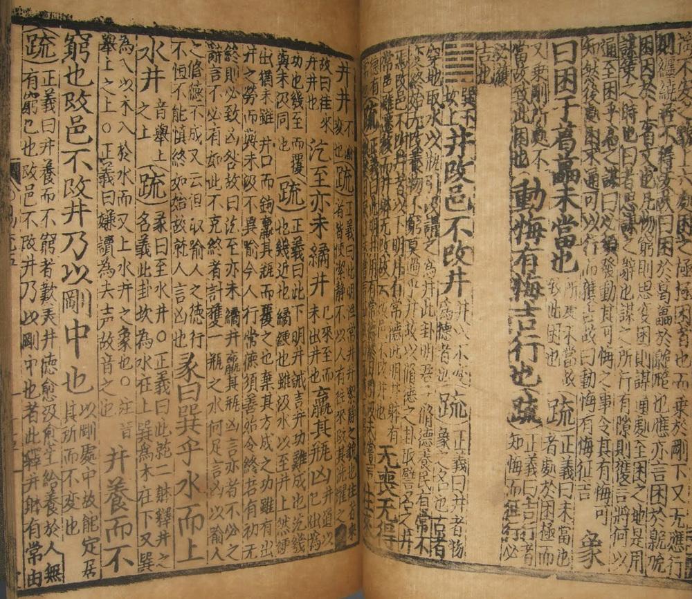 Medieval I Ching Manuscript