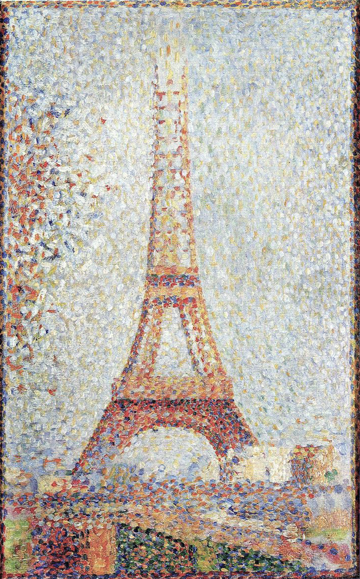 EIFEL TOWER, Georges Seurat