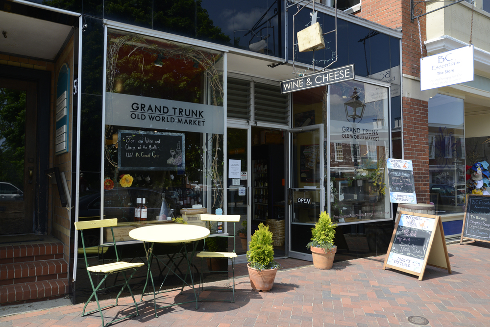 The Grand Trunk storefront