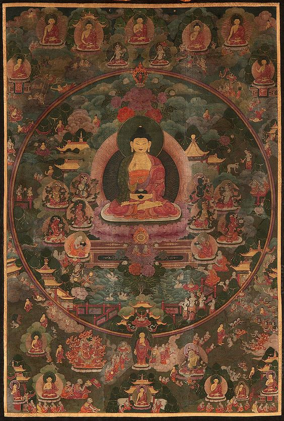 Traditional Tibetan Mandala