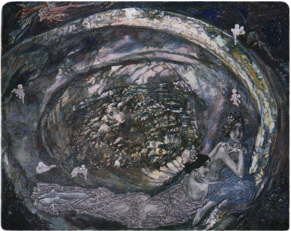 PEARL OYSTER. —  MIKHAIL VRUBEL .