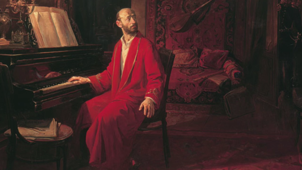PORTRAIT OF KOMITAS BY S. MURADYAN