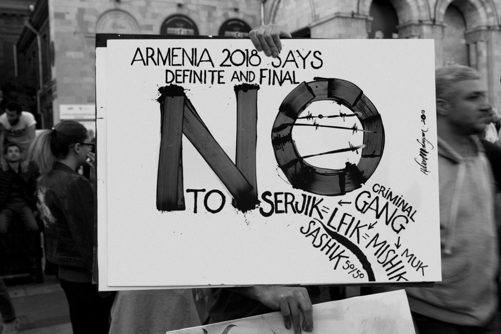 Photography - At the protests, sign says %22No 1%22.jpg