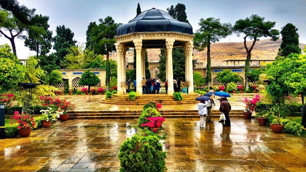tomb of Hafez in Shiraz, Iran