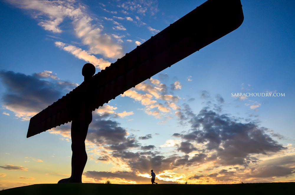 Angel of the North, Gateshead, UK