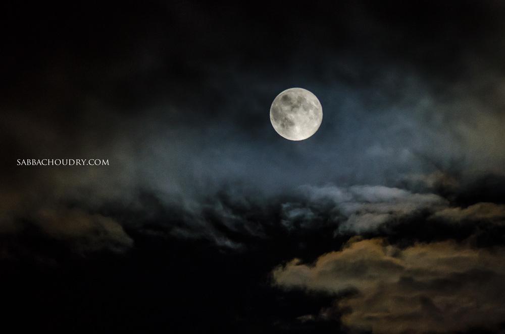 Super Moon 24th June 2013, Northumberland, UK