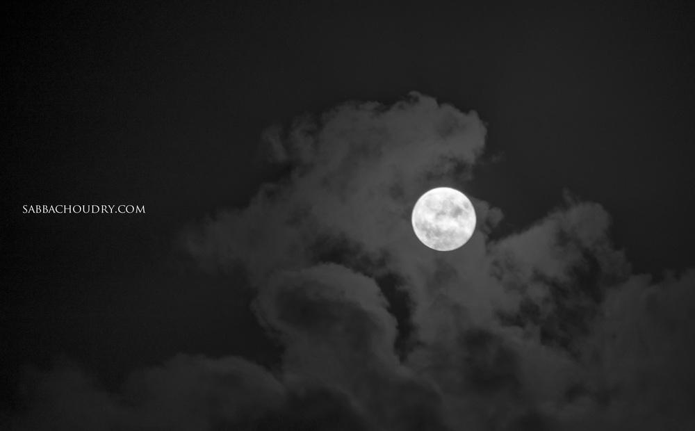 Full moon 8th October 2014, London, UK