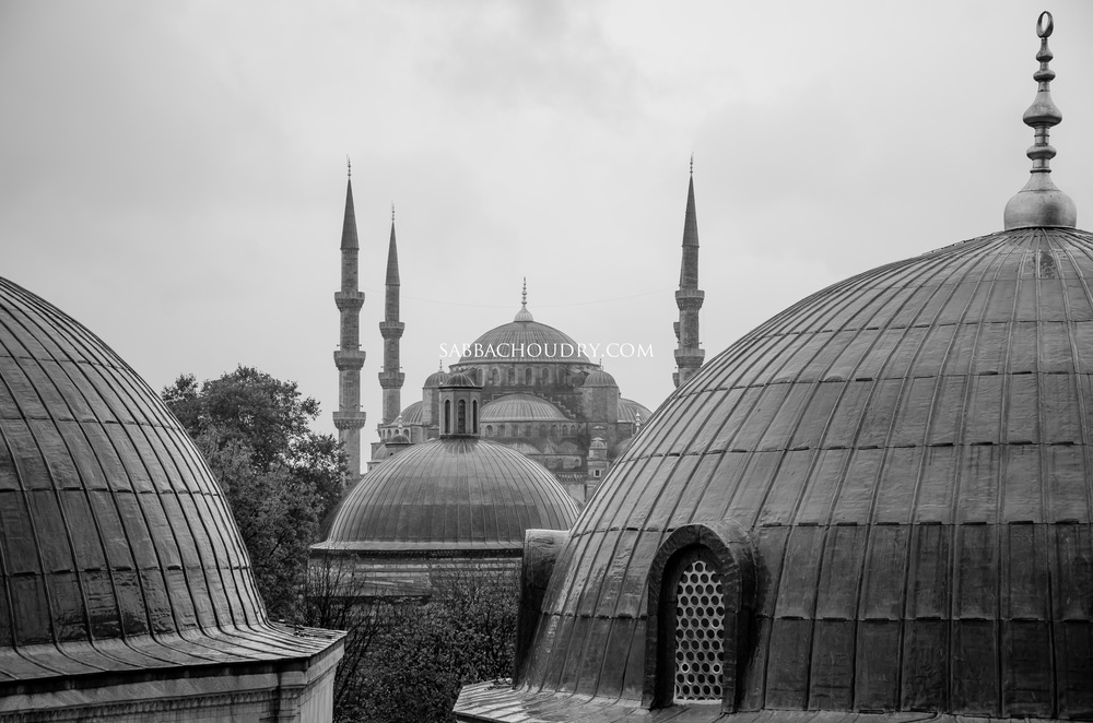 The view from the Hagia Sophia