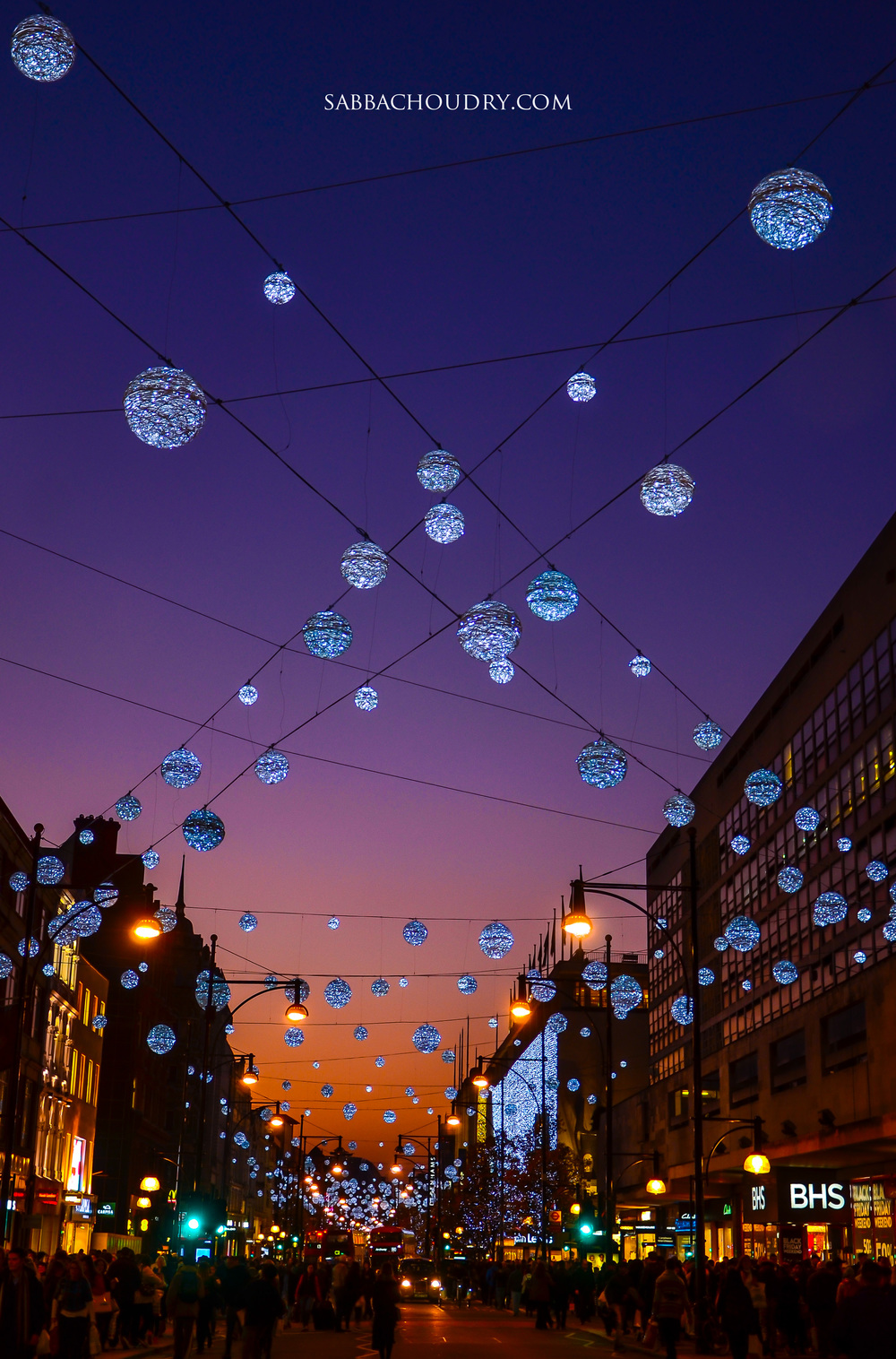 Oxford Street Lights, London