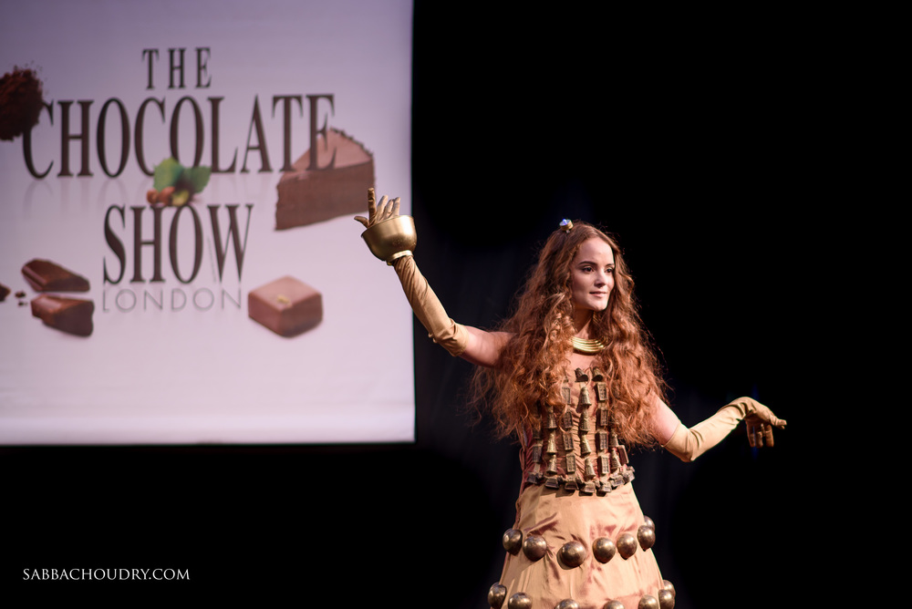 Chocolate Fashion - The Chocolate Show London