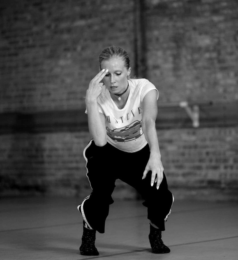 Cocodaco dancer Kristen Donovan. Photo by Ren Freeman