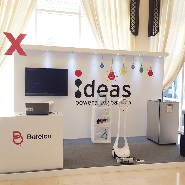 The innovation corner Ideas by our partner @Batelco #tedxahliauniversity