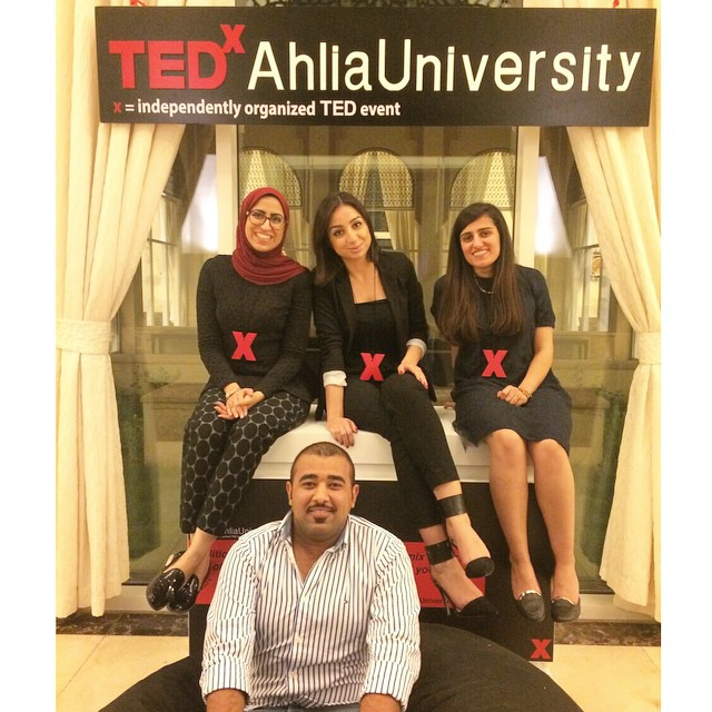 & that's a wrap! Thank you all for attending, speaking, following and supporting #tedxahliauniversity We could not have done it without you! Until next year ❌ Keep following us for updates on the whole event! مشكورين على الحضور و التفاعل و مساندتكم و دعمكم اليوم. تابعونا للمزيد من الصور. انچوفكم السنة الياية