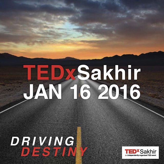 Visit @tedxsakhir to apply as a speaker at the upcoming event! #tedxsakhir #tedxevents #bahrain [#TEDxAhliaUniversity is not the organizer of this event]