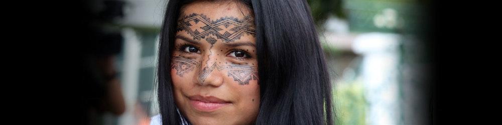 Amazon advocate & human rights activist,Nina Gualinga.