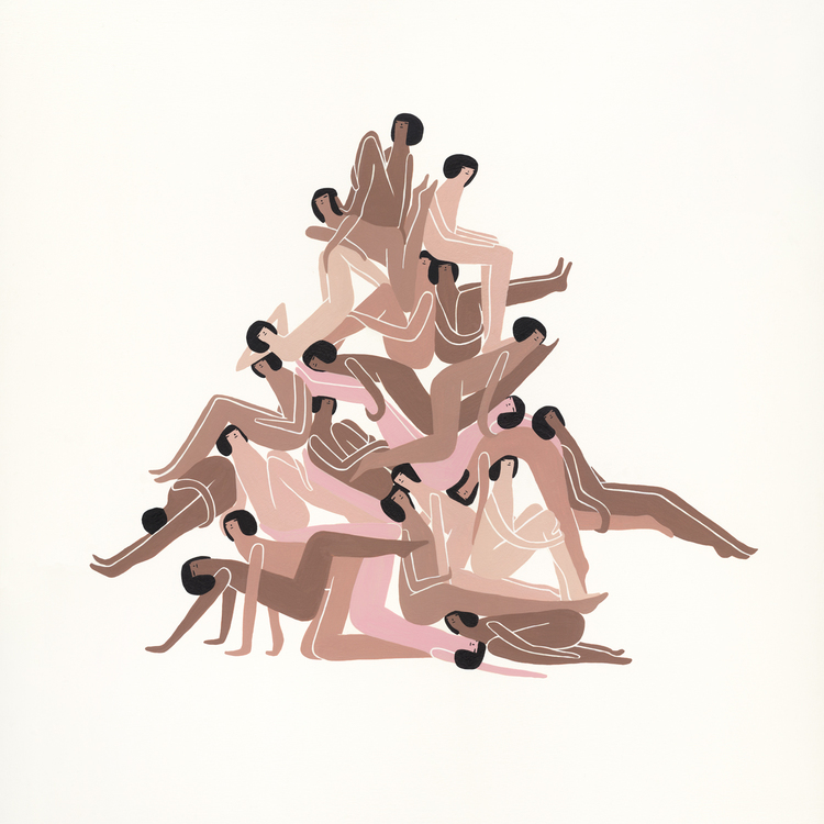 solidarity? karmic entwinement? tree of life? I don't know but I love it by  @_lauraberger_