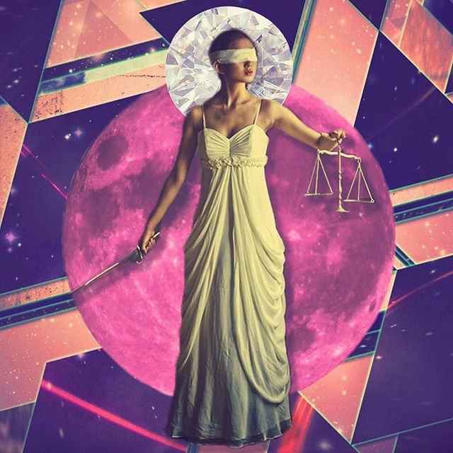 Wassup Revolutionaries!  Today is the #pink #FullMoon 🌝 in #Libra ⚖️ Where can YOU find more #balance in your life? This full moon and #spring weekend with #mercuryinretrograde call us to turn inward to shine a 💡 on our emotions and forge the best relationship with Self + others. Sending you ➕ #vibes and spirit for your own introspection. Maybe use your #DiveinDeck with some beloveds tonight!? 🤔 Just a thought... ❤️