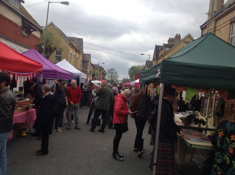 A glance of Granby4Streets Market